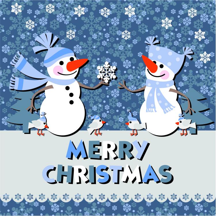 free vector Christmas notes stickers 02 vector