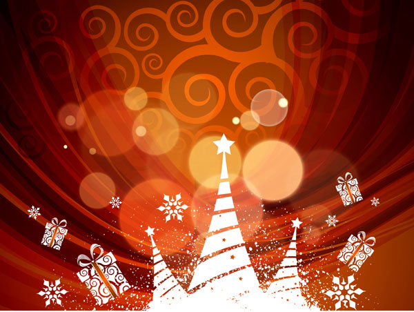 free vector Christmas pattern background pattern vector