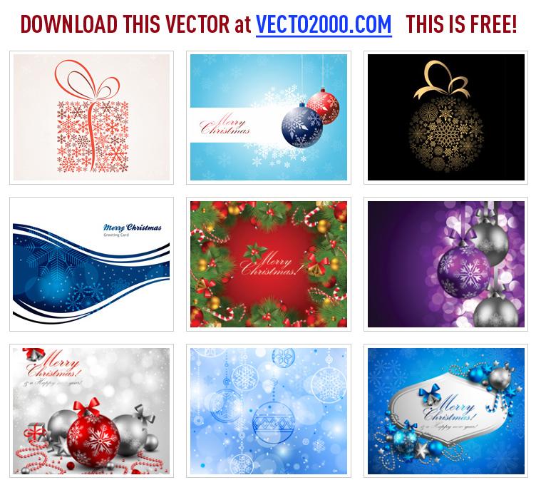 free vector Christmas Ribbon Banner