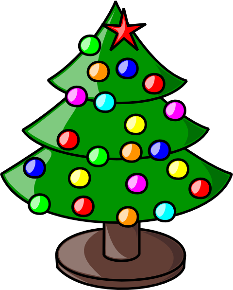 Christmas Tree Art.Christmas Tree Clip Art 107604 Free Svg Download 4 Vector