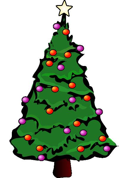 Christmas Tree Cartoon 2014