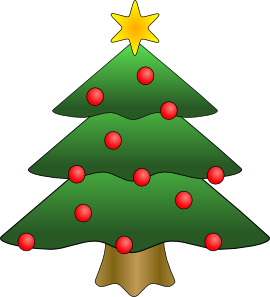 christmas tree clip art free vector 4vector rh 4vector com free vector christmas clip art downloads free christmas vector art images