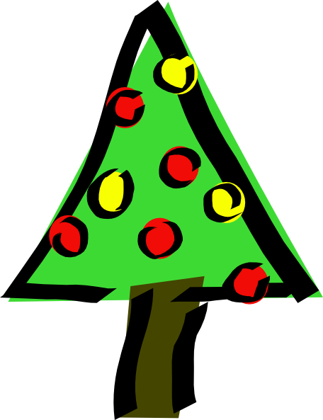 christmas tree clip art free vector 4vector rh 4vector com christmas tree clip art free printable christmas tree clip art free images