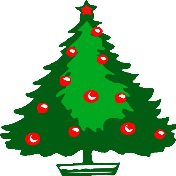 christmas tree clip art free vector 4vector rh 4vector com christmas vector art wallpaper christmas vector art black and white