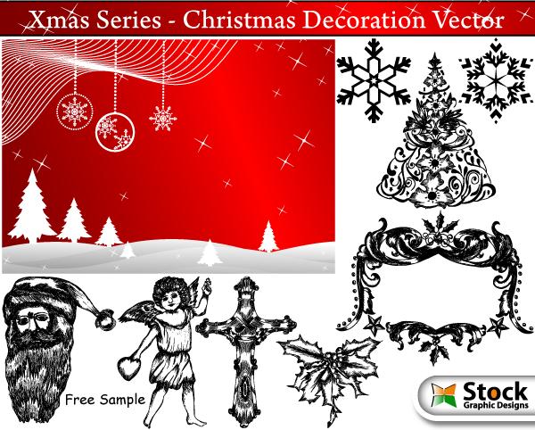 free vector Christmas Vector Art