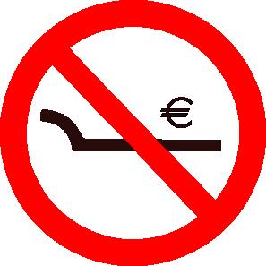 free vector Cibo Exploitation Prohibited clip art