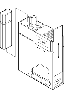 free vector Cigarette Box clip art