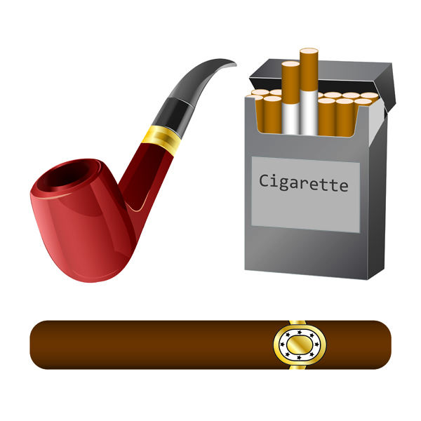 Cigarette clip art Free Vector / 4Vector