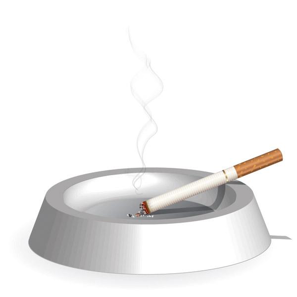 free vector Cigarette theme vector