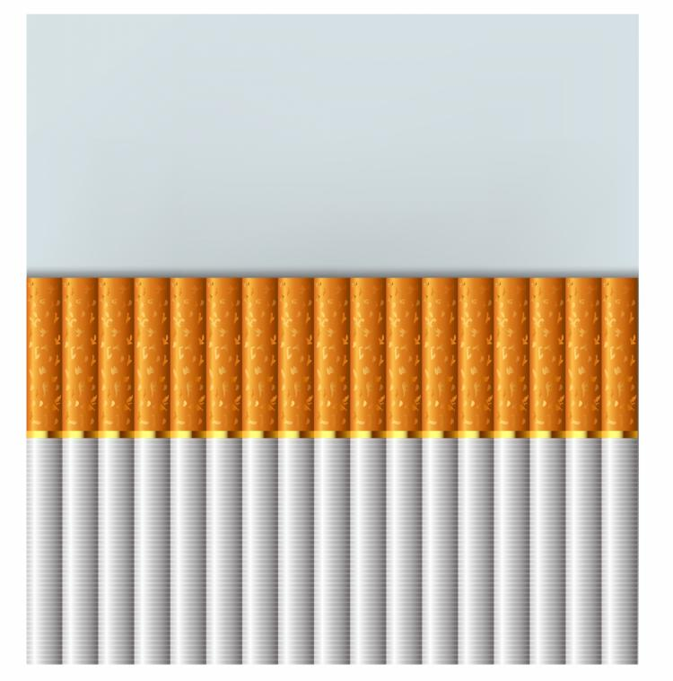 free vector Cigarettes stacked up
