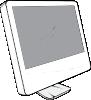 free vector Cinema Display clip art