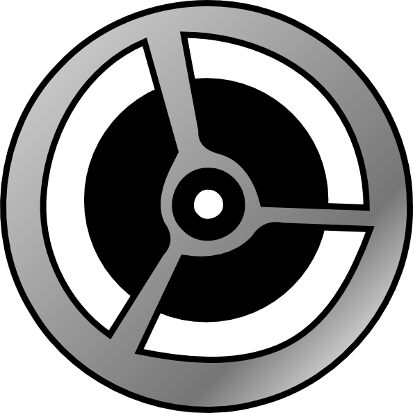 free vector Cinema Film Wheel clip art