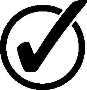 free vector Circle Checkmark clip art