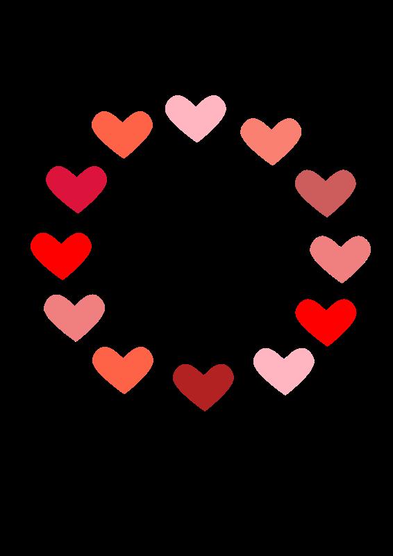 free vector Circle of Love