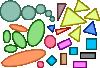 free vector Circles Ellipses Triangles Squares Rectangles Shapes clip art