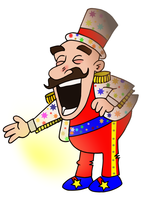 free vector Circus chef