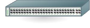 free vector Cisco Network Ethernet Gigabit Switch clip art