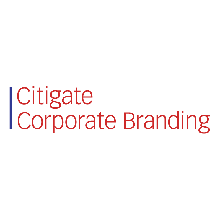 free vector Citigate corporate branding