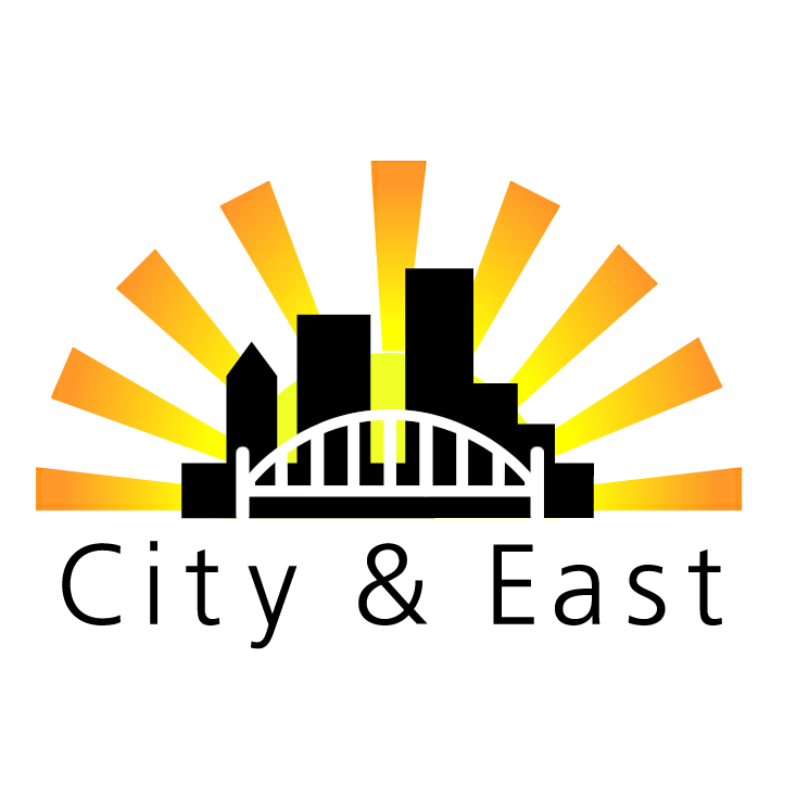 free vector City and east real estate