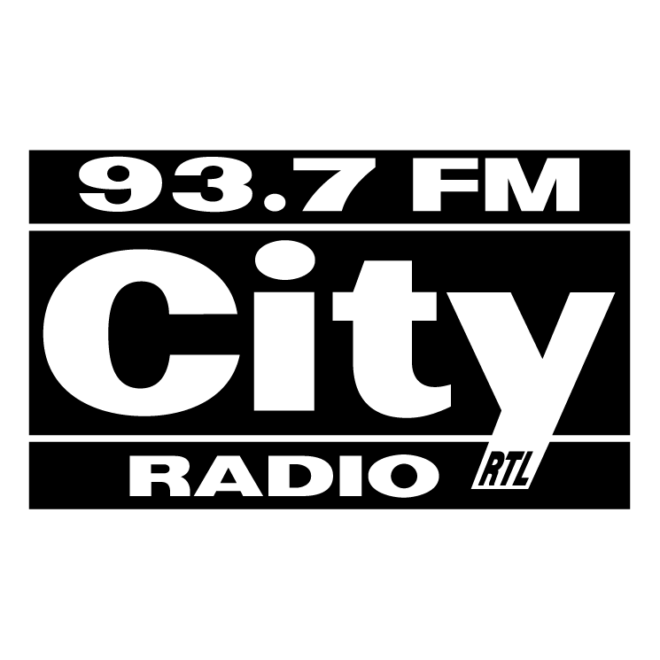 free vector City radio