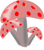 free vector Ciuperci Mushrooms clip art