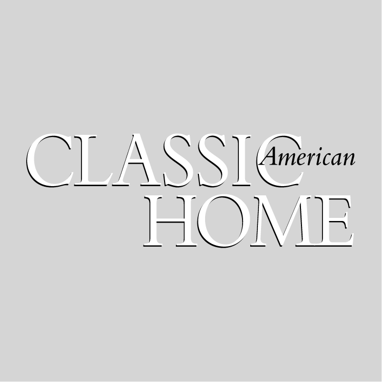 Classic american home free vector 4vector for American classic logo