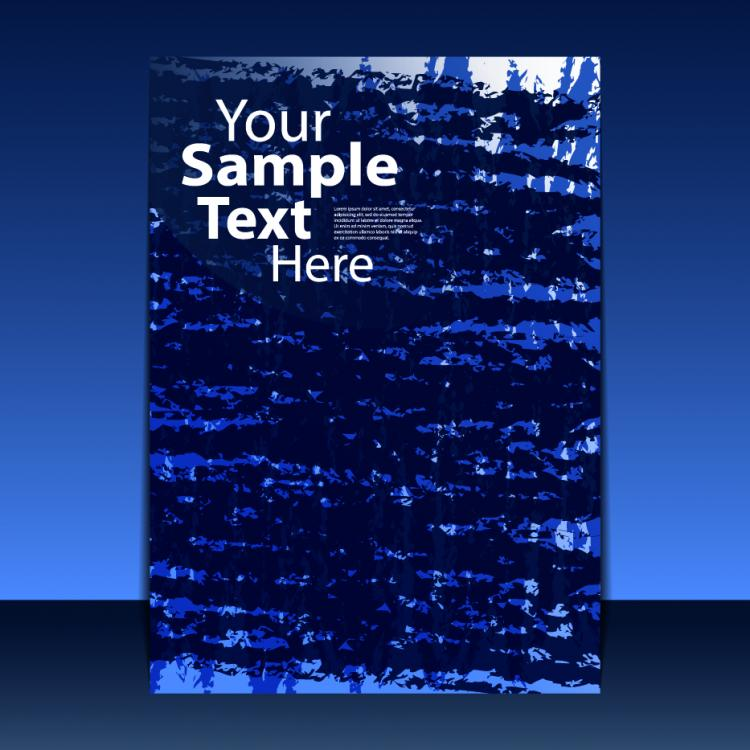 free vector Classic book cover design 01 vector