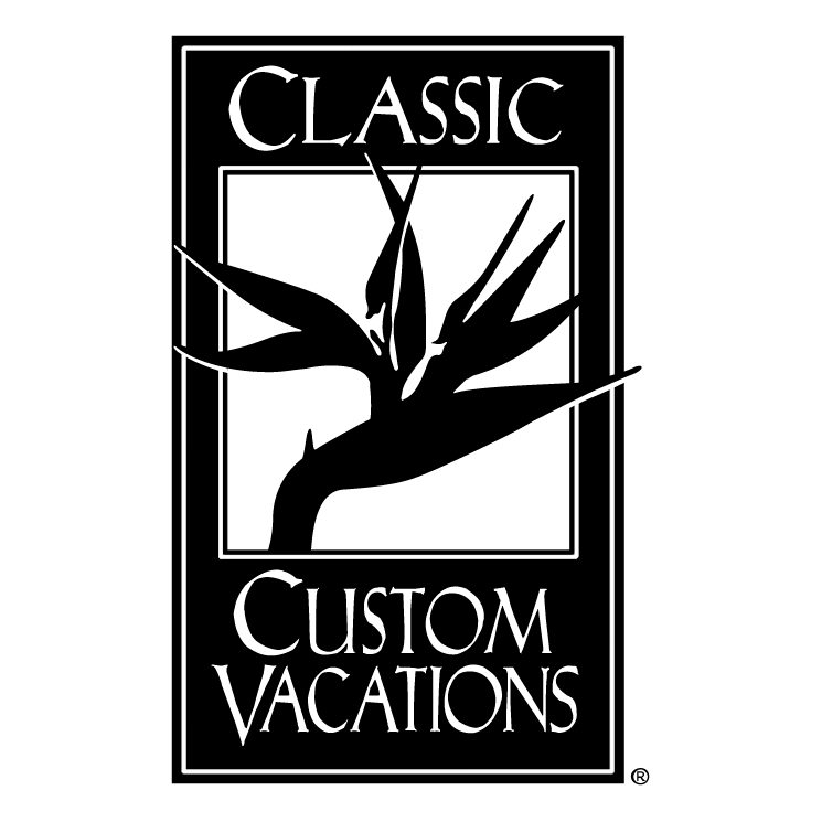 free vector Classic custom vacations