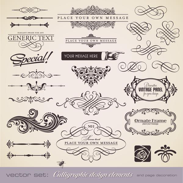 free vector Classic european pattern 03 vector