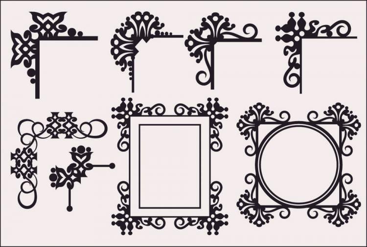 free vector Classic european pattern 07 vector