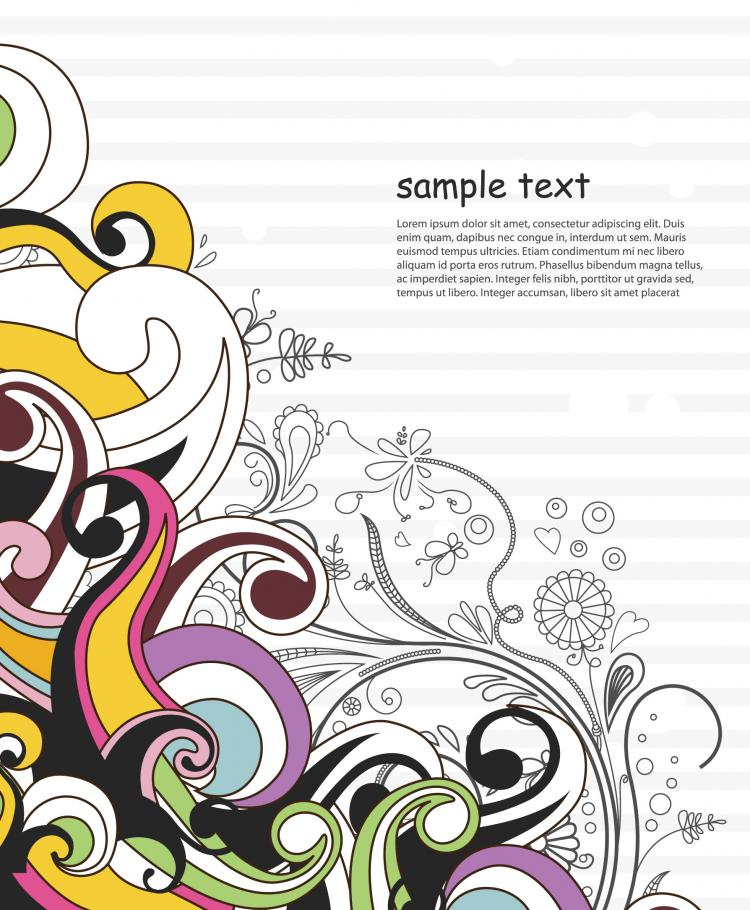 free vector Classic fashion pattern background 01 vector
