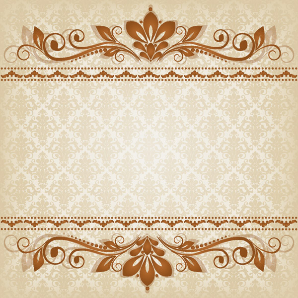 free vector Classic lace pattern 03 vector