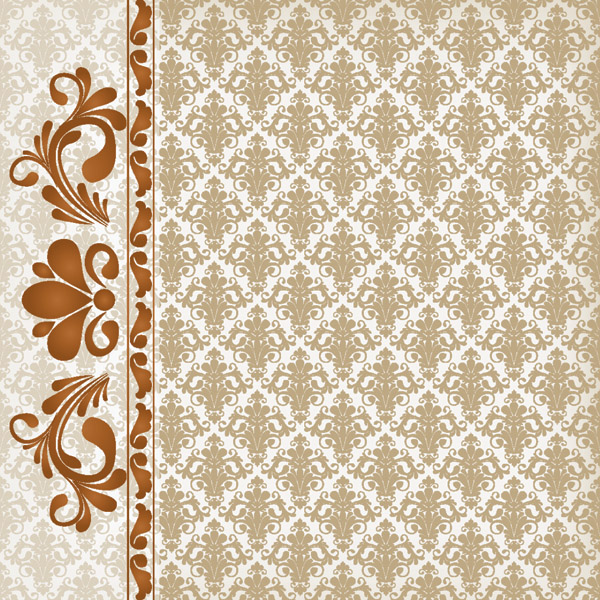 free vector Classic lace pattern 05 vector