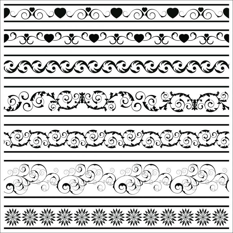 free vector Classic lace pattern 10 vector