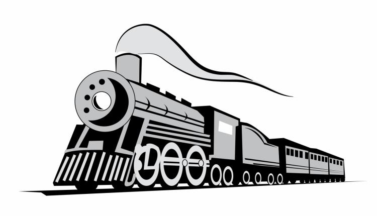 free vector Classic locomotive train