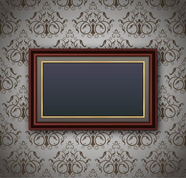 free vector Classic pattern border 02 vector