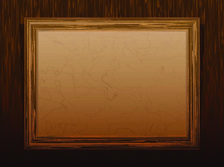 free vector Classic wood frame 02 vector