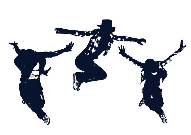 free vector Classical figures vector dance