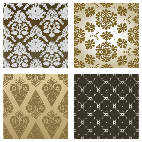 free vector Classical pattern vector background