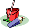 free vector Cleaning Tools clip art