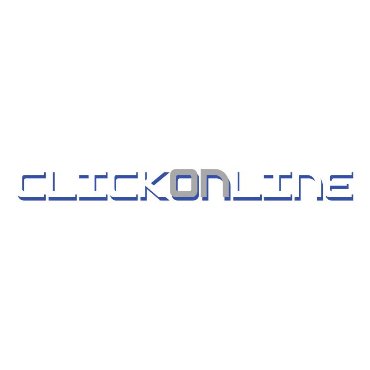 free vector Clik on line
