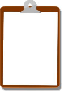 free vector Clipboard clip art