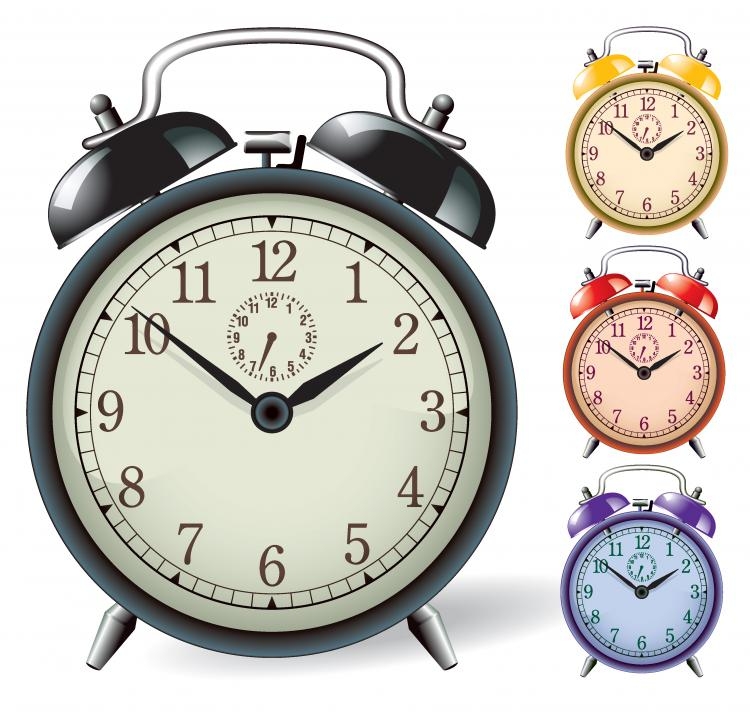 free vector Clock alarm vector