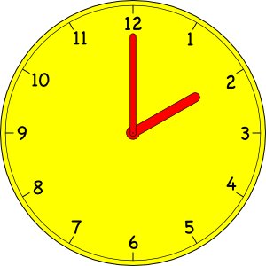 free vector Clock clip art