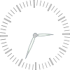 free vector Clock Graduiation Minutes clip art