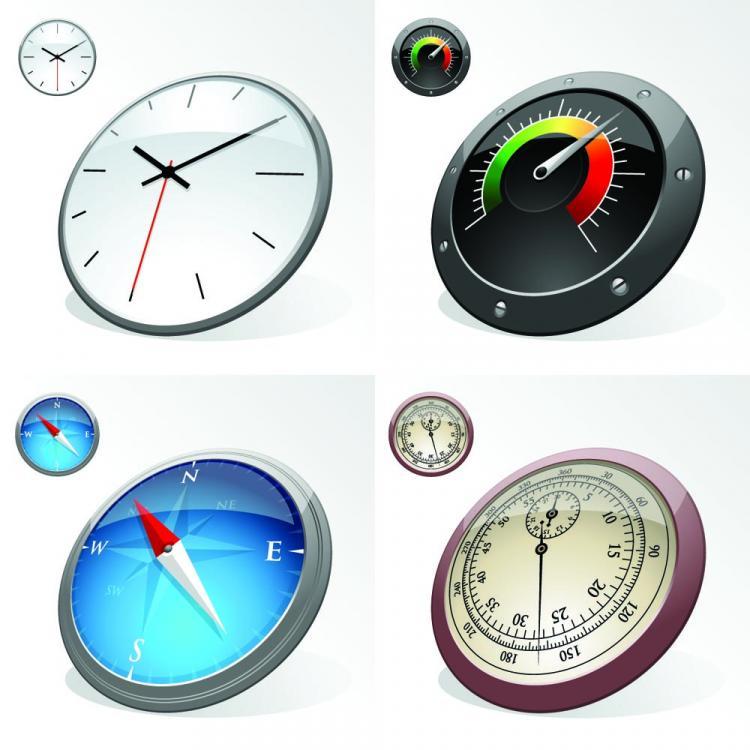 free vector Clock speed u200bu200btable 01 vector