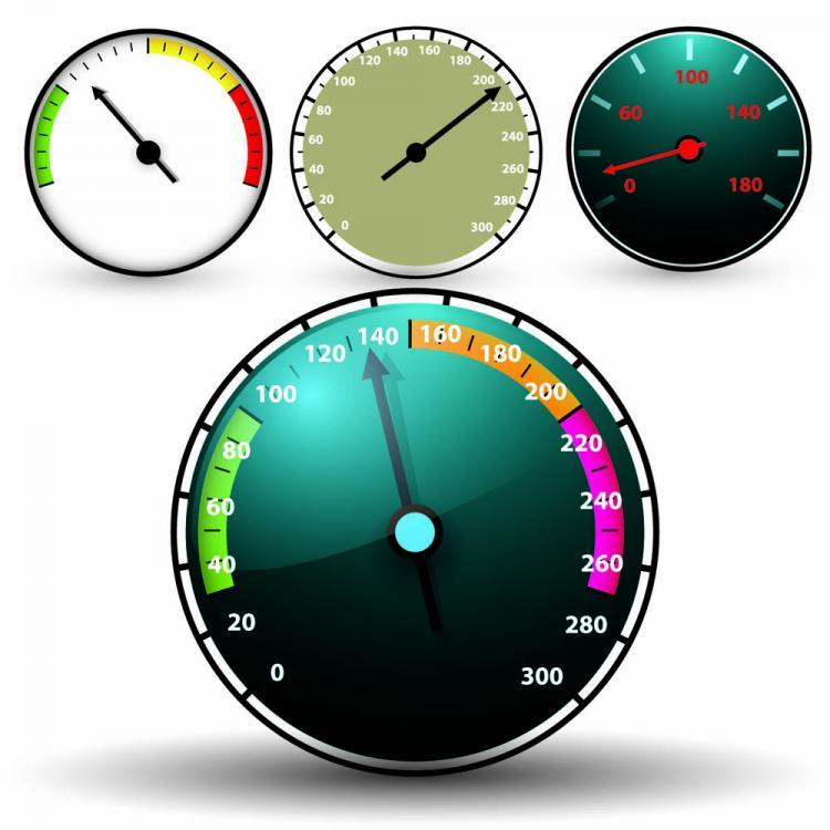 free vector Clock speed u200bu200btable 05 vector