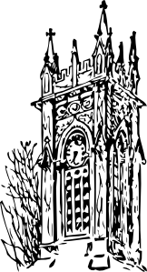 free vector Clock Tower clip art