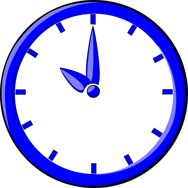 free vector Clock12 clip art