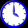free vector Clock12 clip art